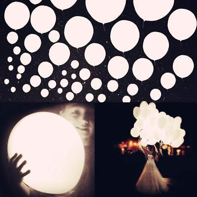 100PCS LED Balloons Light Light Up Lamp Wedding Birthday Xma Party Decoration AY