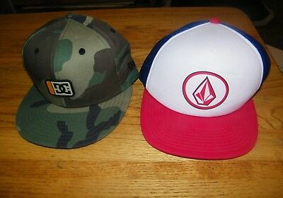 3f9e600026b1 Skateboarder Skater Snapback Hats Ball Cap DC Shoes New Era 9Fifty VOLCOM  NWOT