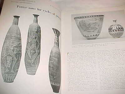 1954 Paul Holleman Studio Pottery Bob Winston Schimpff De Patta Modern Jewelry !