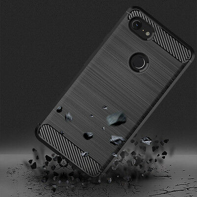 Fr Google Pixel3XL/3 Ultra-slim Brushed Silicone Phone Protective Case Cover OP