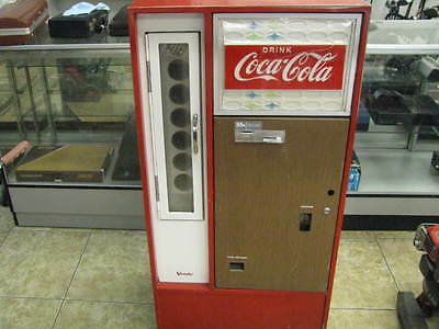 Vintage Coca-Cola Coke Vending Machine Vendo Company Model No. Ha56C 1960's L@@k