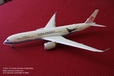 JC Wing China Airlines Airbus A350-900 in New Color Diecast Model 1:200