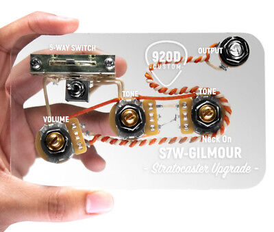 920d custom s7w david gilmour 7-way wiring harness for fender strat/ stratocaster