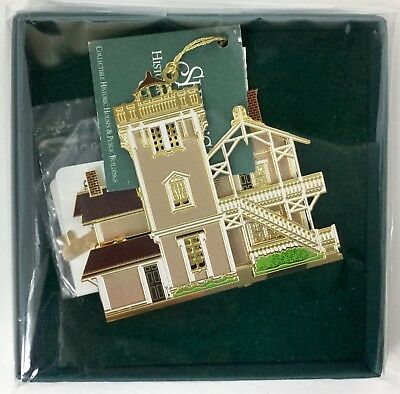 Sheila's Historical Ornament East Brother Lighthouse Metal Christmas Ornament NI