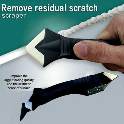 3 in 1 Sealant Angle Scraper Silicone Grout Caulk Tool Kit Set Remover Tool New