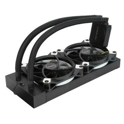 Antec Kuhler K240 Liquid CPU Cooler, Low Profile, PWM Fan, Teflon Coated Tubing.