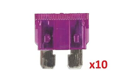Connect 36821 3amp Standard Blade Fuse Pk 10