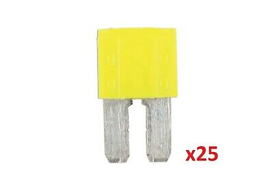 Connect 37164 20amp Micro 2 Blade Fuse Pk 25