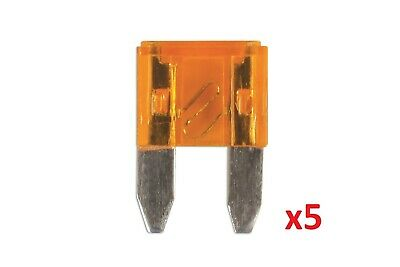 5Amp Mini Blade Fuse Pk 5 | Connect 36834