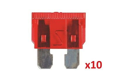 Connect 36825 10amp Standard Blade Fuse Pk 10