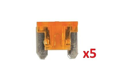 5Amp Low Profile Mini Blade Fuse Pk 5 Connect 36844