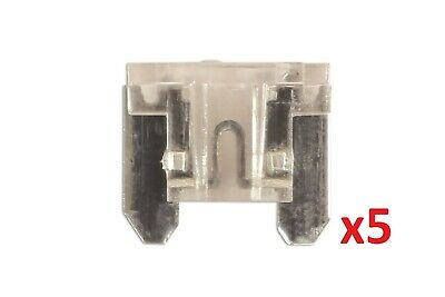 25Amp Low Profile Mini Blade Fuse Pk 5 Connect 36849