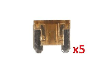 7.5Amp Low Profile Mini Blade Fuse Pk 5 Connect 36845