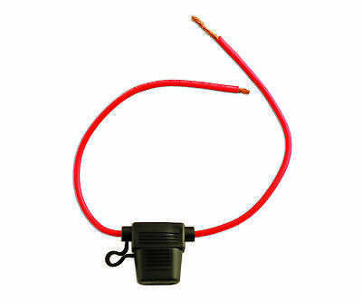 Connect 30457 Splashproof Blade Fuse Holder-Red 30-amp Pk 10