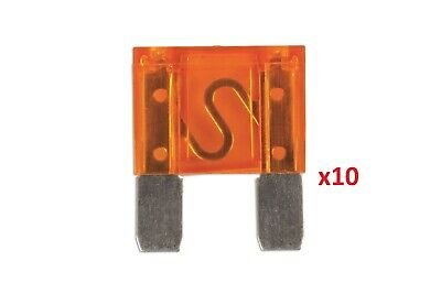 Connect 30447 Maxi Blade Fuse 40-amp Amber Pack 10