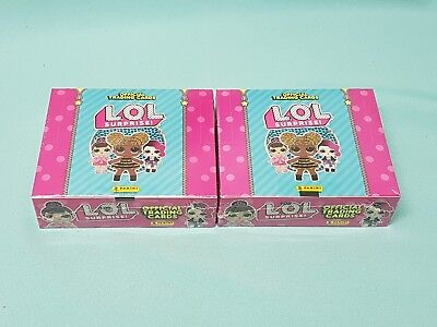 Panini LOL Surprise Trading Cards 2 x Display / 48 Booster L.O.L