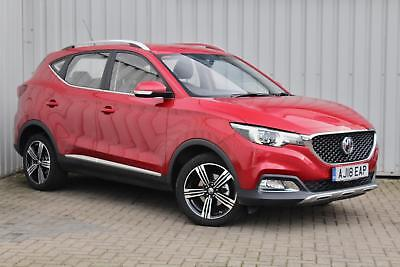 MG ZS 1.5 VTI-Tech ( 105bhp ) SUV 2018 Exclusive in Dynamic red