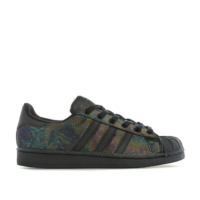 71ef09b1159a adidas Originals Baskets Superstar Iridescent Noir Fille