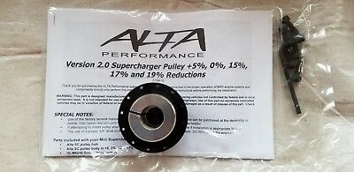 Alta Reduction Pulley 15% Version 2.0