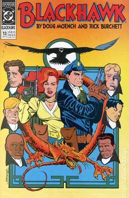 Blackhawk (2nd Series) #13 1990 VG Stock Image Low Grade
