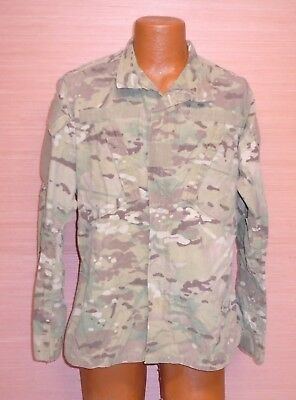 US Military Issue Multicam OCP Camo Army Combat Coat Jacket FR Sz Medium Regular