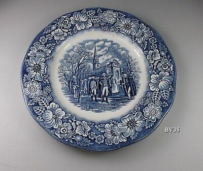 """Staffordshire Liberty Salad Plate  7"""" - Set Of 2 Plates -  Excellent!"""