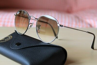 d3239ea61fa AUTHENTIC RAY BAN Rb 3447-N Round Metal 004 51 50-21 145 2N ...