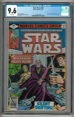 Star Wars #24 (1979) CGC 9.6 White Pages  Duffy - Infantino - Wiacek