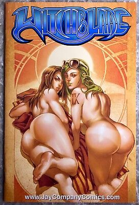 Witchblade 111 Jay Company Blue Label Nude Variant Limited to 100 Copies