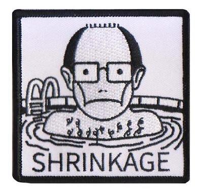 TOILET SWORD EMBROIDERED IRON-ON PATCH THRILLHAUS