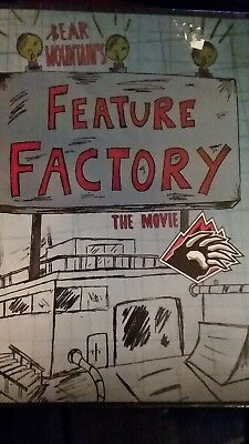 Bear Mountain's Feature Factory The Movie (DVD, 2012) New & Sealed