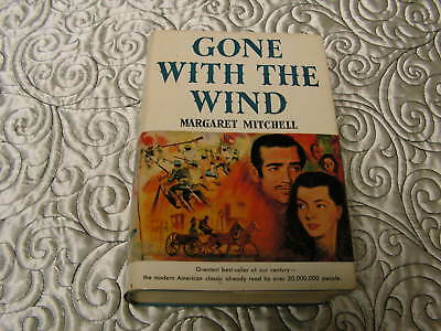 Gone With the Wind (Margaret Mitchell, Copyright 1936, Hardcover w/DJ) BCE RARE