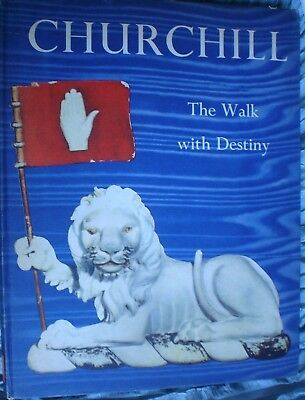Book  Military Army War Churchill Walk With Destiny Fully Illustrated See Pics