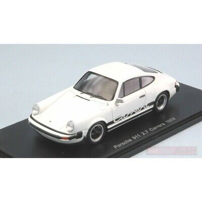 Spark Model S4997 Porsche 911 Carrera 2.7 1974 White 1:43 Model Die Cast