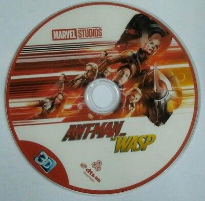 ANT MAN AND THE WASP (2018) blu-ray 3D region free **NEW!!!**