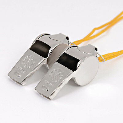 2PCS Soccer Football Sports Whistle Survival Cheerleaders Referee Whistle H&P Safety Whistles