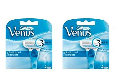 Gillette for Women Venus Systemklingen 2 X  4 = 8 Stück / Original