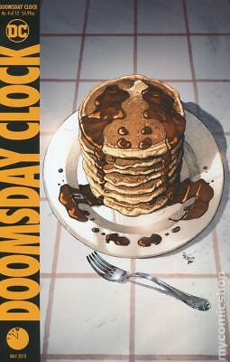 Doomsday Clock (DC) #4A 2018 Frank Variant NM Stock Image