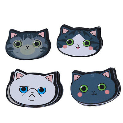 Cartoon Animal Cats Bookmark Stationery Souvenir Collection Kids Gift LD