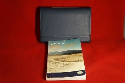 2006 Land Rover Owner Manual