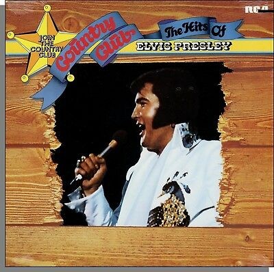 Elvis Presley - Country Club: The Hits of Elvis Presley (1977) - New LP Record!