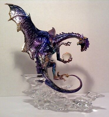 MIchael Whelan Guardian of the Skies by Franklin Mint Dragon Figurine Sculpture