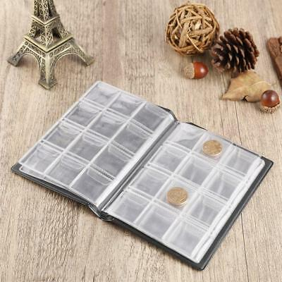 120 Pockets 10-Page Penny Coin Storage Folder Album Book Money Collecting Holder