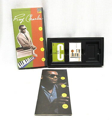 Ray Charles The Birth of Soul Cassette Tape Box Set Atlantic Records 2 Tapes