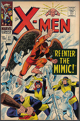 The X-Men Issue Number 27 By Marvel Comics