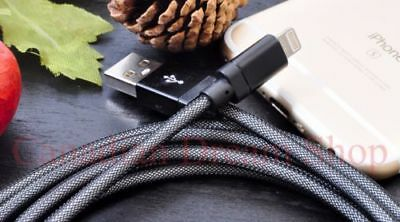 Long Braided USB Quick Charger Data Charging Cable Lead For iP 6s 7 8 6 5s X