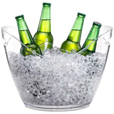 New 7.5L Ice Bucket Wine Champagne Beer Bottle Drinks Large Drink Beverage