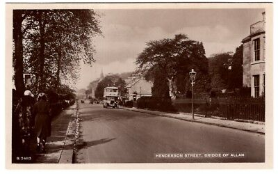 Henderson Street,  Bridge of Allan  (RP)   Unposted  - 560