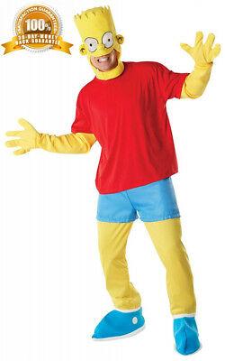 Rubie's Official Adult's The Simpsons Fancy Dress Costume - Standard