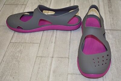 8a628177535732 CROCS SWIFTWATER WAVE Women s Water Shoe - 203995 Vibrant Violet ...
